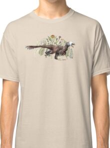 Velociraptor and plant life Classic T-Shirt