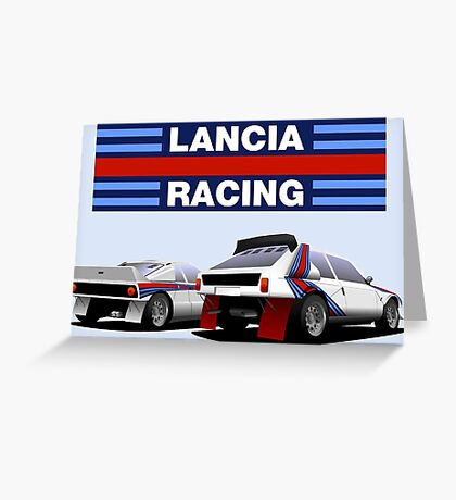 Lancia Rally - Group B Greeting Card