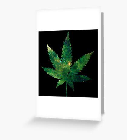 420 Green Greeting Card