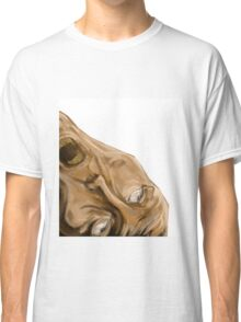 haunted screaming face Classic T-Shirt