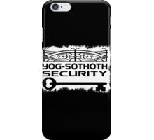 Yog-Sothoth Security iPhone Case/Skin