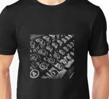 Old vintage typewriter Unisex T-Shirt