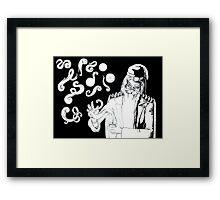 harry potter dumbledore deluminator Framed Print