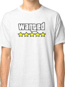 Grand Theft Auto - Wanted Classic T-Shirt