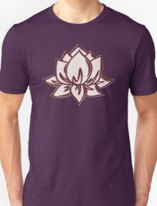 Lotus Flower Symbol Wisdom & Enlightenment Buddhism Zen Unisex T-Shirt