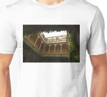 Cozy Courtyard - Green Mediterranean Serenity and Peace Unisex T-Shirt