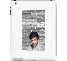 Matthew Daddario Trash iPad Case/Skin