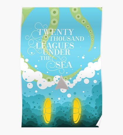 Twenty Thousand Leagues Under the Sea Poster