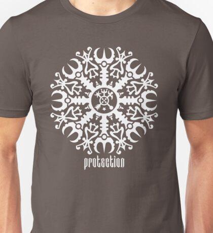 Helmet of awe - Aegishjalmur No.1 (white) Unisex T-Shirt