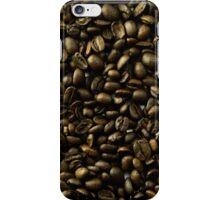 coffee beans in bulk a soft light  iPhone Case/Skin