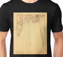 USGS TOPO Map Rhode Island RI Newport 353518 1904 62500 Unisex T-Shirt