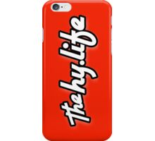 The HyLife iPHONE cover - Black Edge iPhone Case/Skin
