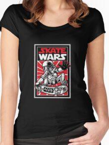 Wars Skateboard Women's Fitted Scoop T-Shirt