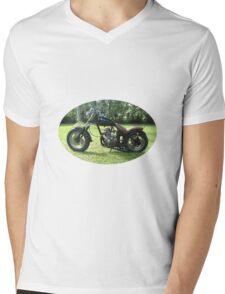 ula chopping motorcycle Mens V-Neck T-Shirt