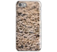 Natural background of snow and frost  iPhone Case/Skin