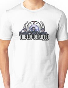 Earth Defense Force The EDF Deploys!  Unisex T-Shirt