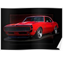 1968 Chevrolet Camaro Rally Sport RS396 Poster