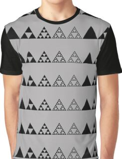 Sierpinski, Triangle, Mathematics, Fractal, Math, Geometry Graphic T-Shirt