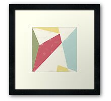 HERE X Framed Print