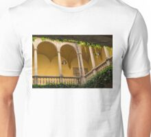 Secret Mediterranean Life - Peaceful, Cozy Courtyard in Barcelona Unisex T-Shirt