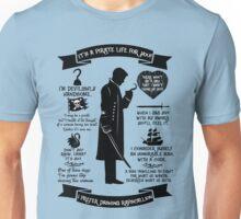 Captain Hook Quotes. OUAT. Killian Jones Unisex T-Shirt