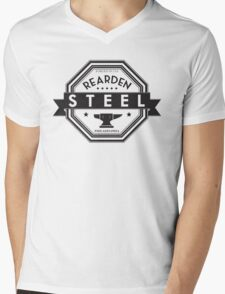 Rearden Steel Mens V-Neck T-Shirt