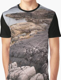 Loch Ewe coastline Graphic T-Shirt