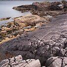 Loch Ewe coastline by Christopher Cullen