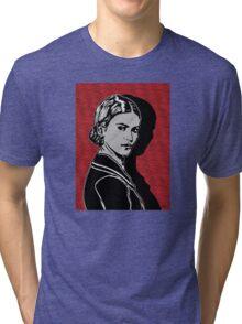 Frida Kahlo Portrait 1920s Tri-blend T-Shirt