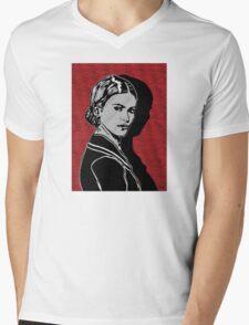 Frida Kahlo Portrait 1920s Mens V-Neck T-Shirt