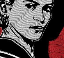 Frida Kahlo Portrait 1920s Sticker