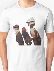 Kakashi, Rin, Obito Unisex T-Shirt