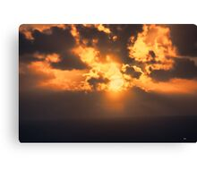 And Then There Was Day 7 Canvas Print
