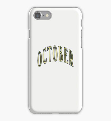 October- OVO iPhone Case/Skin