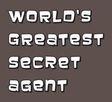 World's greatest secret agent Baby Tee