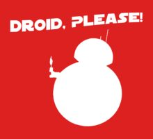 Droid, Please! Baby Tee