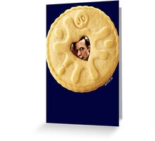 Doctor Who - Matt Smith 11th Doctor Trapped in a Jammie Dodger Greeting Card