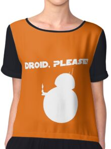 Droid, Please! Chiffon Top