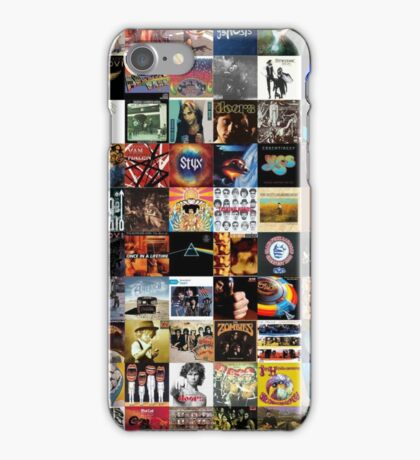 Classic rock covers - collage iPhone Case/Skin