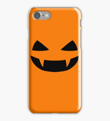 Halloween - Jack o lantern smile iPhone Case/Skin