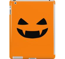 Halloween - Jack o lantern smile iPad Case/Skin