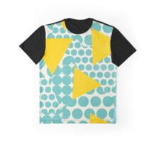Dots and Triangles Graphic T-Shirt