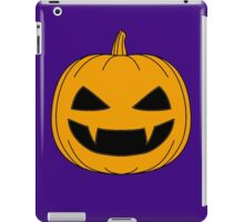 Halloween - Jack o lantern Orange iPad Case/Skin