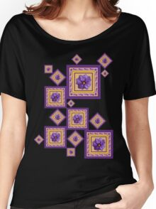 Purple Wildflower Women's Relaxed Fit T-Shirt