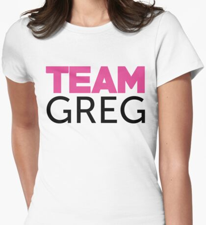 Team Greg Womens Fitted T-Shirt