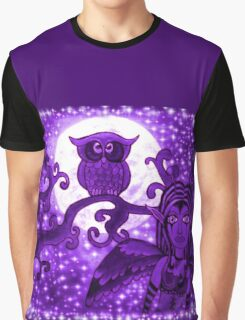 Nyx Of The Night (Purple) Graphic T-Shirt