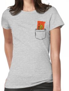 I love reese's chocolate Womens Fitted T-Shirt