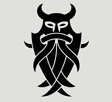 Odin's Mask Tribal (black) Unisex T-Shirt