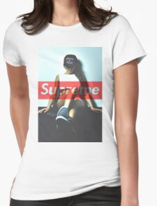 Supreme Cocaine & Caviar Womens Fitted T-Shirt