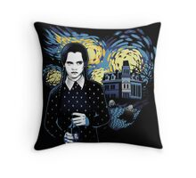 Starry Wednesday Night Throw Pillow